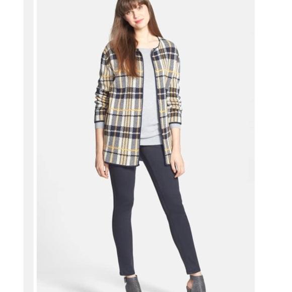 7816217c91 Olive   Oak Plaid Blanket Sweater Cardigan EUC. M 5bd776f6bb7615d4053b5cd0